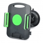 Universal Car Swivel Suction Cup Mount Holder - Black + Green