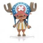One Piece PVC Anime Figure Toy with Display Base - Tony Tony Chopper