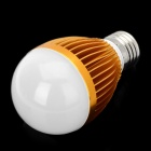 E27 5W 90~100LM 3000~3200K 5-LED Warm White Light Bulb (220V)