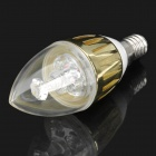 E14 3W 470nm 25-Lumen 3-LED Blue Light Bulb (220V)