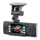 "Dual 5.0MP Lens Wide Angle Car DVR Camcorder w/ 16-IR LED / HDMI / TF (2.0"" TFT LCD)"