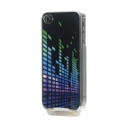 Novel Light-Glowing Protective Case for iPhone 4/4S - Musical Equalizer (USB Cable Included)