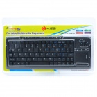 2.4GHz 96-Key Keyboard Portable Multimedia (2 x AA)