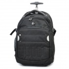 Genuine HP Pull Rod Travel Rolling Backpack - Black