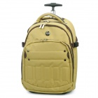 Genuine HP Pull Rod Travel Rolling Backpack - Yellow