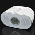 "BiJELA HL-2230 1.8"" LCD Music Speaker w/ Remote Controller / FM for iPhone / iPod - White"