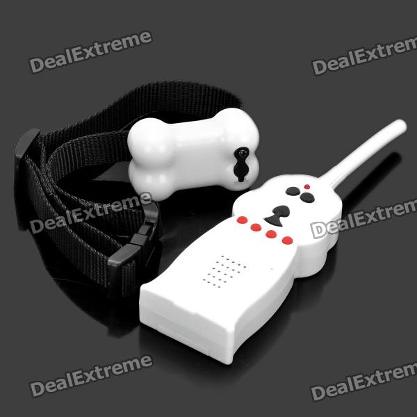 Electronic Shock Vibration Remote Control Pet Bark Stop Training Collar Set