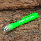 SL-2001A 18000MCD Warm White Light Waterproof Compact Flashlight - Green (2 x AAA)