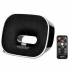 DOSS 960 Charging Docking Station Music Speaker w/ FM for iPhone / iPod - Black