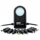 OZIO 3-Digit LED 90W Car Power Adapter w/ Dual USB / Connectors for Laptop / Iphone (DC 12~15V)