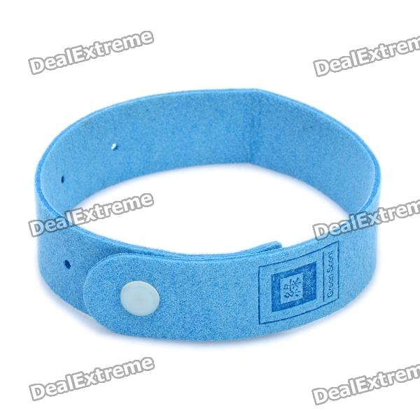 Bugslock Bugs Lock Mosquito Repellent Repeller Wrist Band - Blue
