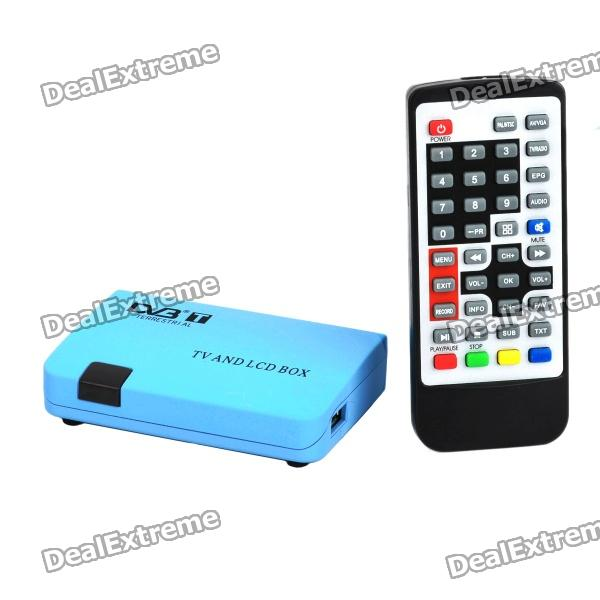 MPEG2 DVB-T Receiver with Remote Controller