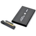 "USB 3.0 Hard Disk Drive Enclosure for 2.5"" SATA HDD - Black"