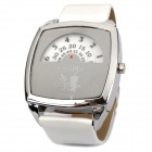 Cartoon Conan Digital Wrist Watch - White + Silver (1 x 373ETA)