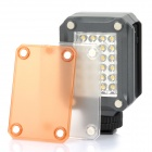 K160 160Lux Mini HD 24-LED Video Light for Camera