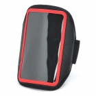 Sporty Armband for Samsung Galaxy Note i9220 - Black + Red