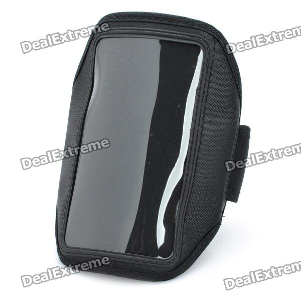 Sporty Armband for Samsung Galaxy Note i9220 - Black mhl docking station for samsung galaxy note i9220 black silver