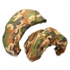 Camouflage Car Licence Plate Anti-Dust Covers (Pair)