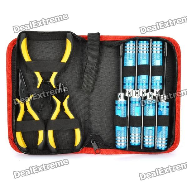Profesional Alicates Destornilladores + Tool Set (10-Piece)