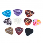 Plastic Guitar Picks (0.46mm Thick / 10-Pack)