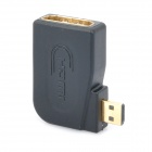 Micro HDMI Male to HDMI Female Right Angle Adapter
