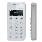 "Bluedio BD100 1.0"" OLED USB Bluetooth V2.1 Dialer Headset - White (3.5mm-Jack)"