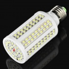 E27 8W 7000K 650-Lumen 168-LED White Light Bulb (AC 110V)