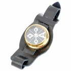 Outdoor Convenient Wrist Watch Style Compass - Black