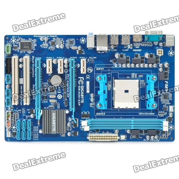 GIGABYTE A55-S3P ATX AMD A55 Motherboard
