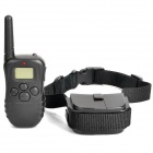 "0.9"" LCD Remote Pet Training Collar - Black (2 x 4LR44 / 2 x AAA)"