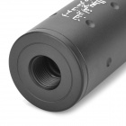 "4"" Gun Sound Suppressor Silencer - Black"