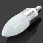 E14 3W 6200K 100-Lumen 3-LED White Light Bulb (AC 220V)