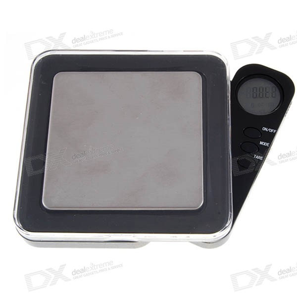 Flip-Out LCD Display Pocket Digital Scale (500g Max / 0.1g Step)