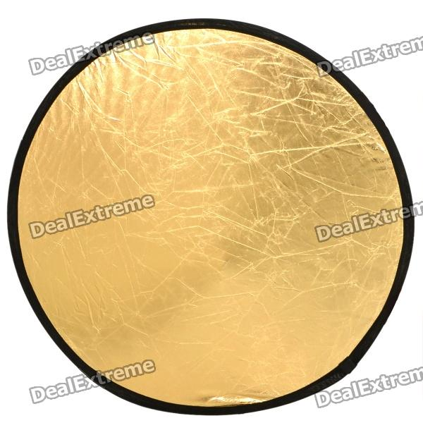 Round Folding Large Flash Reflector Board - 2 Colors (77cm Diameter)