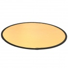 Round Folding Large Flash Reflector Board - 2 Colors (107cm Diameter)