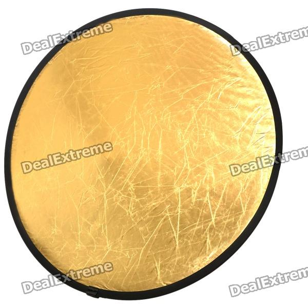 Round Folding Large Flash Reflector Board - 2 Colors (110cm Diameter)