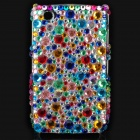 Fashion Acrylic Diamond Protective Back Case for Blackberry 8520 / 8530 - Colorful