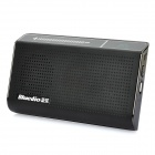 Bluedio Bluetooth V3.0 Wireless Touch Carkit - Black