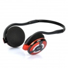 Bluedio 2,4 GHz Bluetooth V2.1 + EDR Class 2 MP3-Player Headset w / TF Slot - Rot