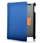 Protective Leather Case for Ipad 2 - Blue