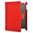 Protective Leather Case for Ipad 2 - Red