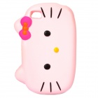 Nettes Hallo Kitty Stil Protective Case für iPhone Sponge 4S - Pink