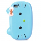 Nettes Hallo Kitty Stil Protective Case für iPhone Sponge 4S - Blue