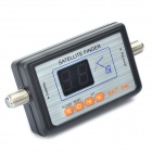 2-Digit Satellite Finder LED - Negro
