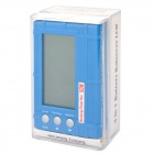 "2.5"" LCD 50W Li-Polymer/Li-Fe Battery Voltage Meter Balancer /Discharger - Blue"