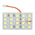White SMD 4*5 20-LED Cabin/Dome/Door/Glove Box Light (12V)