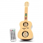 Mini Guitar Shaped Rechargeable Bluetooth V3.0 Wireless Music Speaker w/ FM / USB / SD