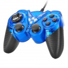 Designed Wired Vibration Gaming Controller for Sony PS2 - Blue