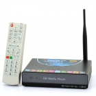 MANYTEL HD 1080P Media Player ж / Wi-Fi / HDMI / USB Host / SD слот - Black