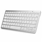 2.4GHz 78-Key Bluetooth V3.0 Wireless Keyboard - Silver + White (2 x AAA)
